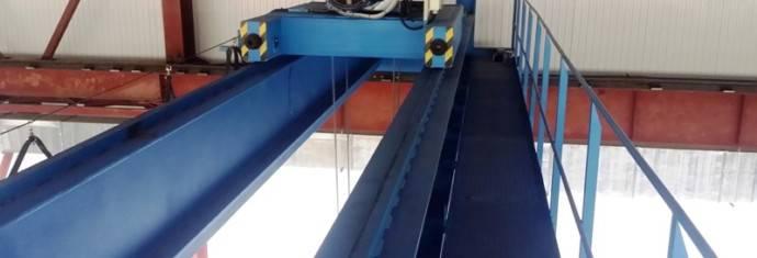 Устройство мостовых кранов