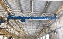 Успешно завершена работа по Тендерной поставке двух мостовых однобалочных подвесных кранов для АО «НПО «СПЛАВ».