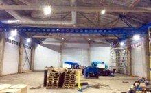 Изготовление, доставка и монтаж подкрановых путей с подвесной кран-балкой