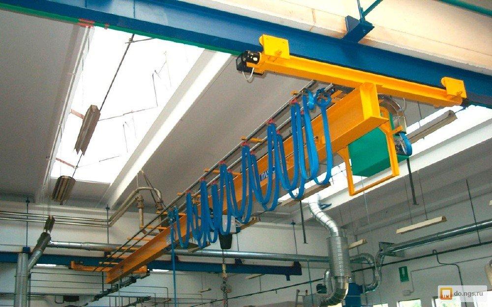 Электрический мостовой кран