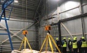 Изготовление и монтаж легкого козлового крана (МПУ) для реконструкции СК «Олимпийский».